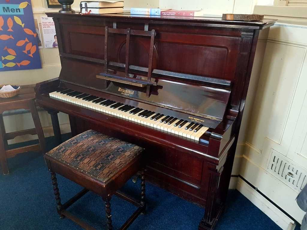 Sutton Methodist Church Piano