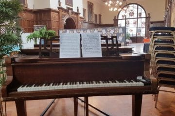 Piano at the Guildhall, Hull
